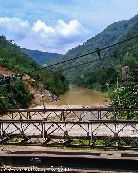 Crossing Barak River